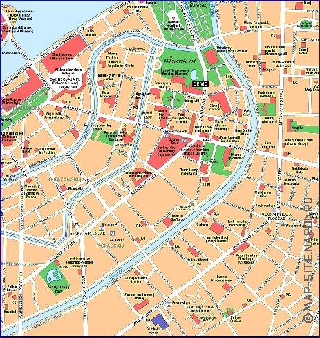 карта санкт петербурга